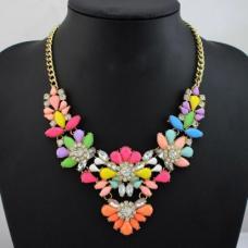 Цветочное ожерелье