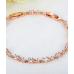 Женский браслет серебро / позолота